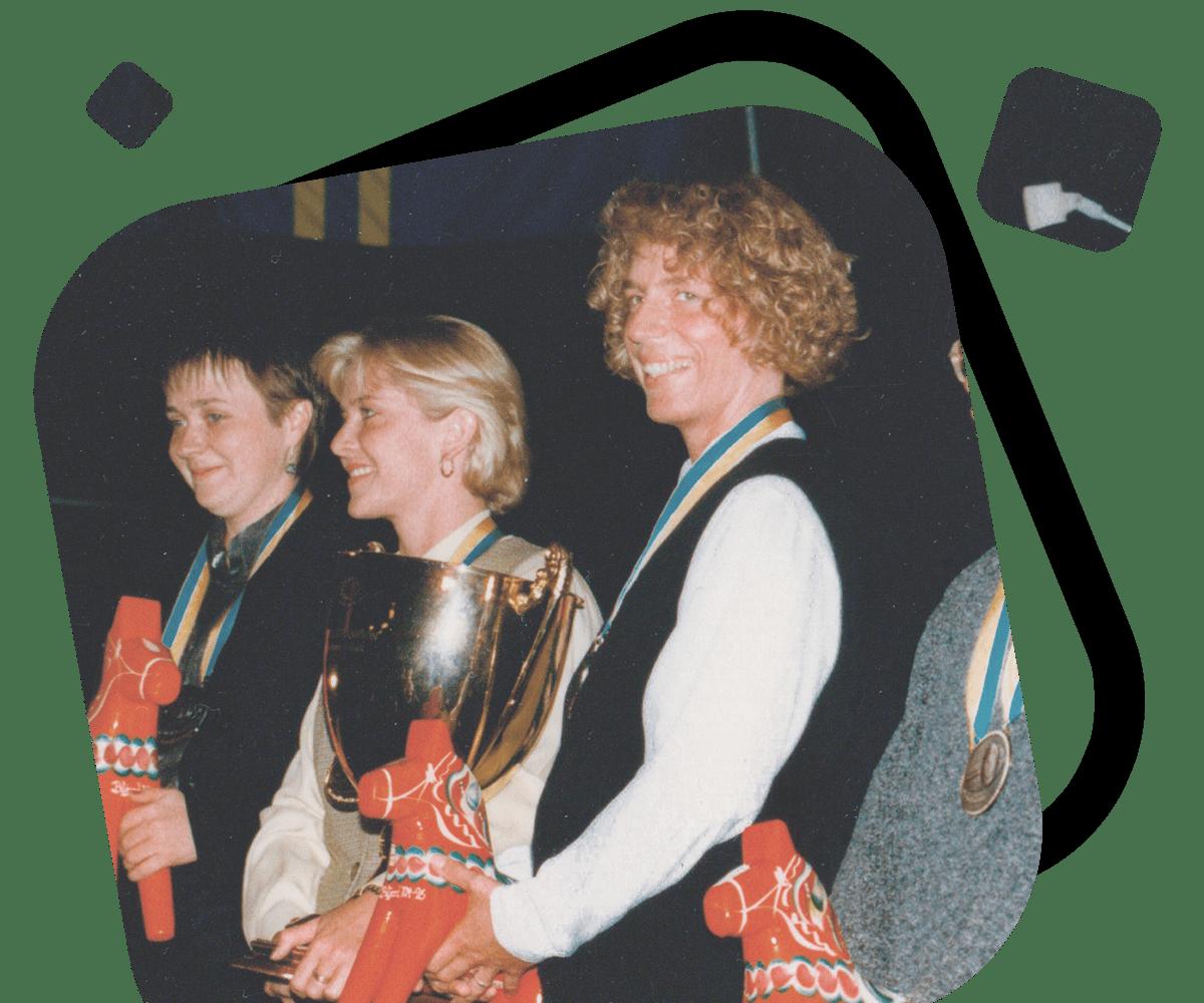 Ulrike Ellinger Wettkämpferin
